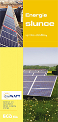 Slunce - fotovoltaika